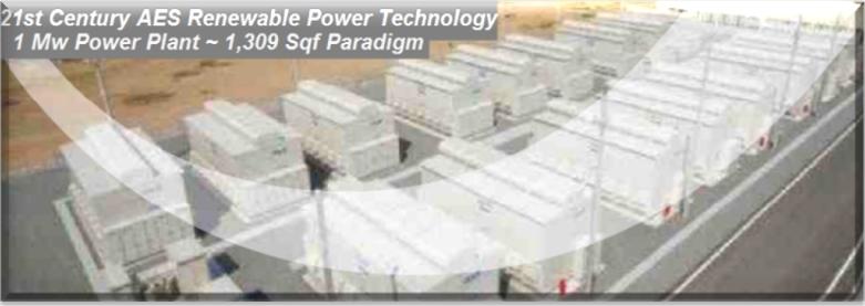 AESRPT 1MW Generator